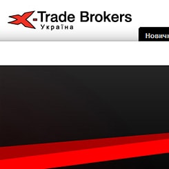 XTrade Ukraine site development